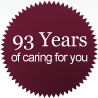 93 years of caring for you