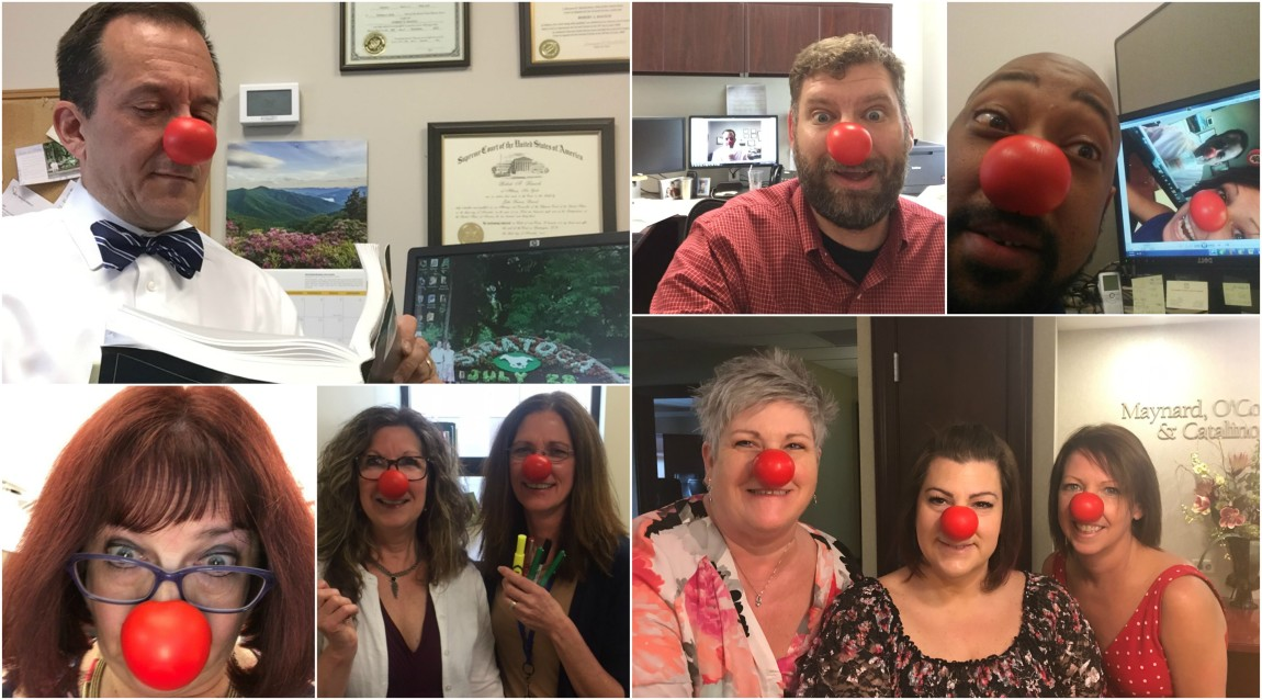 Maynard Red Nose Day 2017